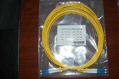 LC单模双芯光纤跳线