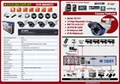 4CH H.264 DVR KIT/1/3 Sony high