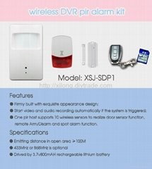 Wireless DVR Motion Camera Sensor