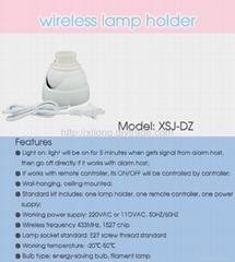 Wireless Lampholder Sensor