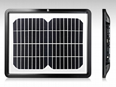 Solar Portable Laptop charger with 10,500mah/3.7V Lithium-ion Polymer Battery
