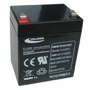 Sealed maintenance free lead acid battery