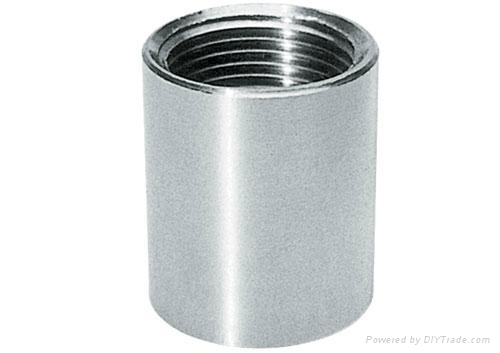 Stainless steel pipe fitting socket reducing banded
