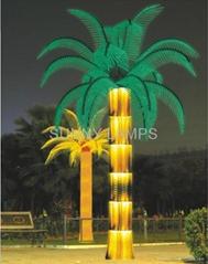 LED仿真棕櫚樹燈
