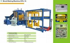 Automatic block making machine QT6-15