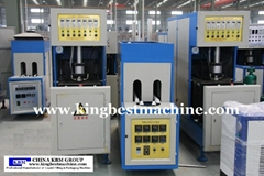 Semi-blow molding machine