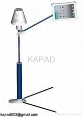 best iPad Floor Stand (with Reading Lamp )----KP-922 (Blue)