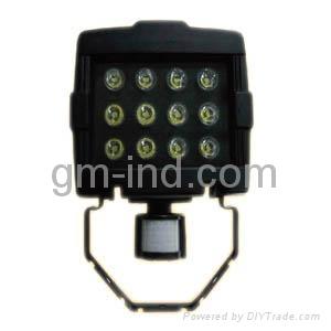 PIR LED flood lamp 1