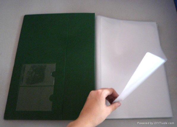 PVC ring binder/ pvc file folder  3