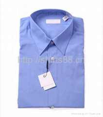 boy's short sleeve school uniform shirt
