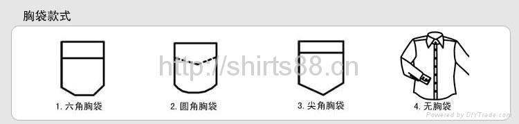 boy's short sleeve school uniform shirt 5