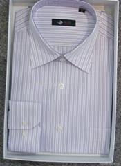 Men's cotton stripped dress casual shirt