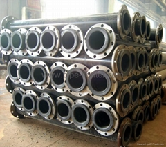 Mining tailings pipe made by extermely wear resistant uhmwpe