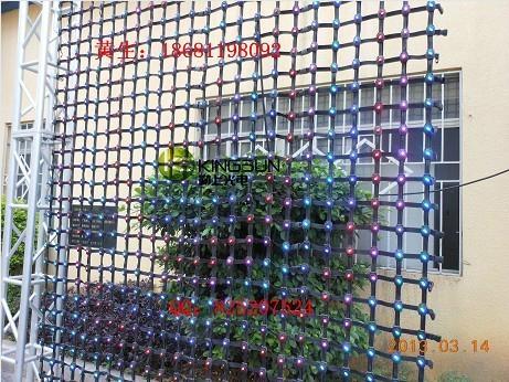 PH100柔性彩幕玻璃牆幕樓宇亮化LED顯示屏 2