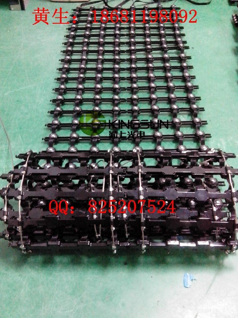 PH50柔性彩幕玻璃牆幕樓宇亮化LED顯示屏 4