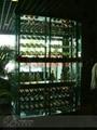 彩色不锈钢酒架 2