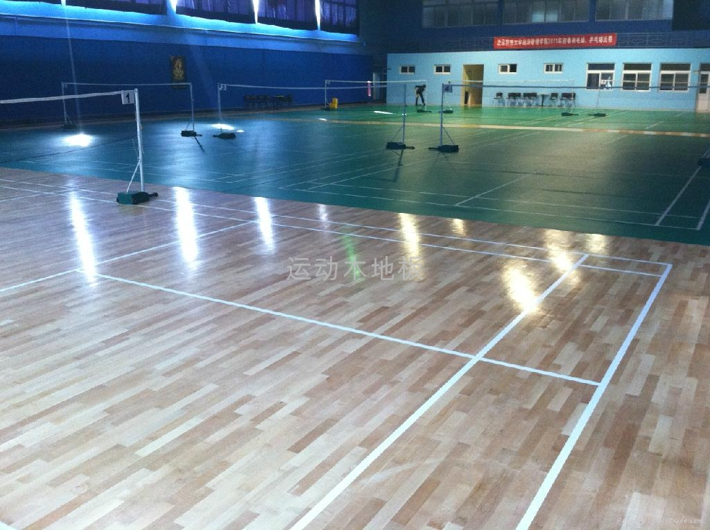 木地板篮球场 4
