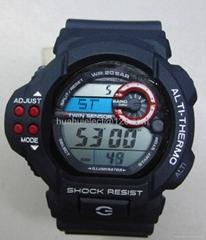 wholesaler fashion hot  c-Shock  digital watches china manufactory