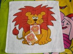 100% cotton compressed towels magic towel