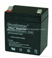 emergency lighting system battery