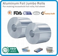 aluminum foil jumbo roll for household container