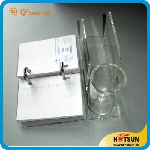 Desk Calendar Stand Diy : Acrylic desk calendar stand and holder hs