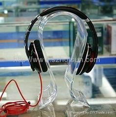 acrylic headphone displays plexiglass headphone stand