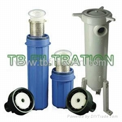 TB Polypropylene Side Inlet Filter Housings