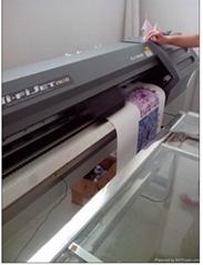 Fabric transfer printing