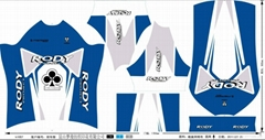 All kinds of sports wear riding clothing positioning printing