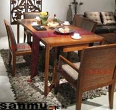 水曲柳實木餐椅