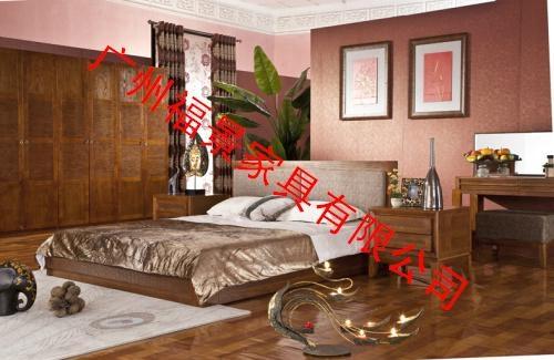 卧室实木家具床头柜 2