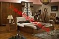 卧室实木家具床头柜 3