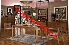 東南亞風格實木桌椅