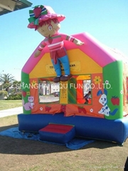 popular inflatable bouncer for family use