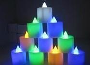吹控定时蜡烛灯方案IC