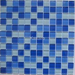 游泳池蓝色系列马赛克