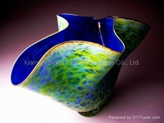Blowing Murano Glass Vases for sale