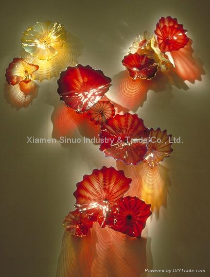 Murano Flowers Glass Decoration Pieces F00392 Xnart China