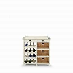 wine cabinet- furniture- acacia