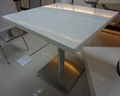 wholesale kkr solid surface restaurant tables/dining tables/coffee tables 1