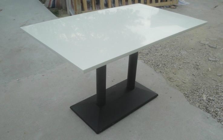 wholesale kkr solid surface restaurant tables/dining tables/coffee tables 2