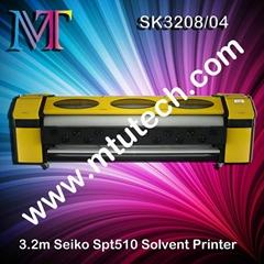 Seiko Spt510 Solvent Printer 1440dpi 3.2m Width