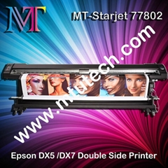 Double Side Eco Solvent Printer with Epson Dx7 Print Head 1440dpi