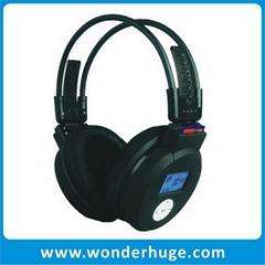 Sports wireless mp3 headphones with FM radio