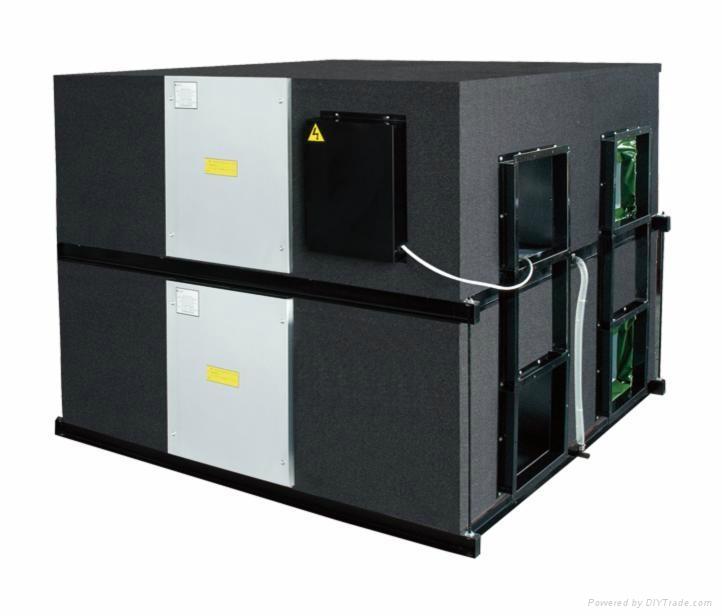 叠加式低噪音全热交换器空气净化器 1