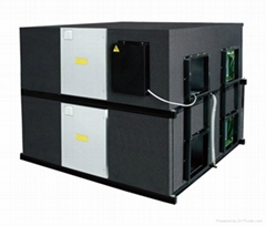 叠加式低噪音全热交换器空气净化器