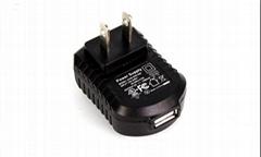 5V 500mA USB Power Adapter UL  Approval