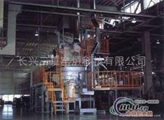 快速集中式熔铝炉