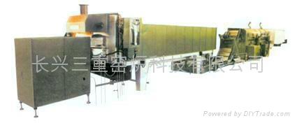 标准件连续式淬火炉 2